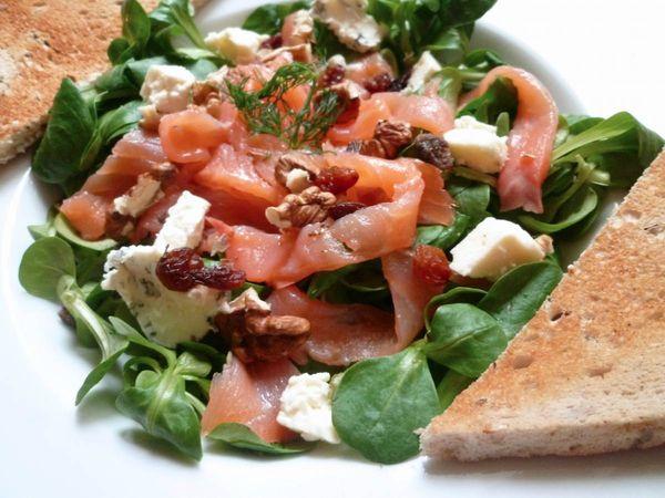 salade au saumon fumé1