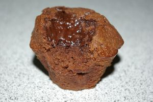 Muffin au Nutella 002