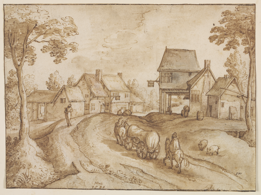 The Oklahoma City Museum of Art exhibits 90 Dutch and Flemish Drawings from the Golden Age