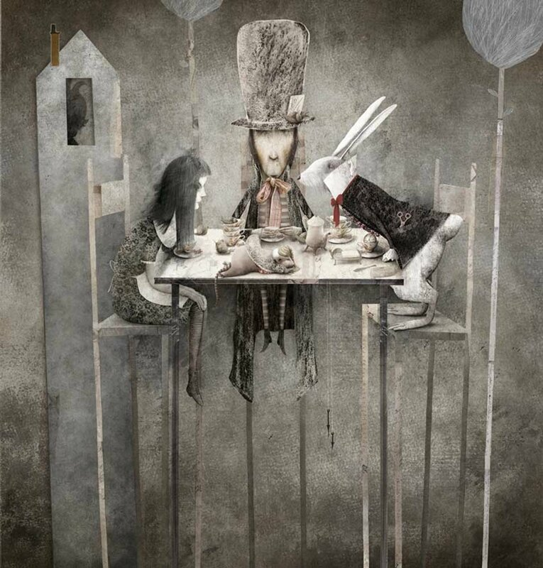 Gabriel Pacheco 1973 - Mexican Surrealist Visionary painter - Tutt'Art@ (64)
