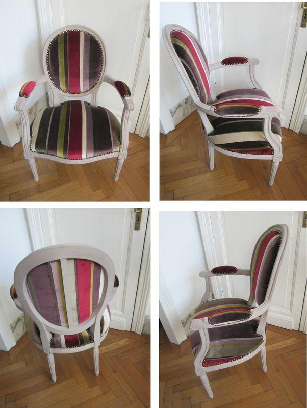 un fauteuil louis xvi dans l 39 atelier pisode 3 ma bulle. Black Bedroom Furniture Sets. Home Design Ideas