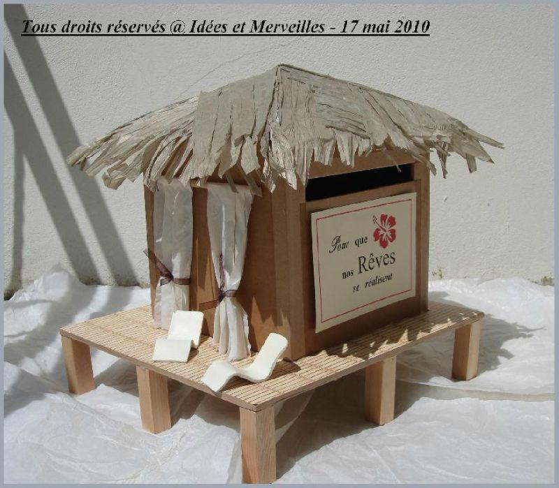Id e urne jessica et edouard notre mariage le 7 juillet 2012 - Urne de mariage originale ...
