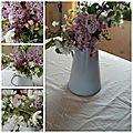 ** remerciement, achats déco & bouquet champêtre printanier **