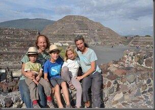 Pyramide de la Lune - Teotihuacan - Mond Pyramide