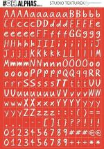 alphabet red blanket stories