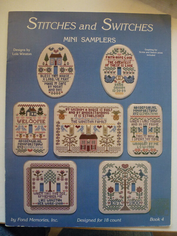 LOIS WINSTON STITCHES AND SWITCHES MINI SAMPLERS