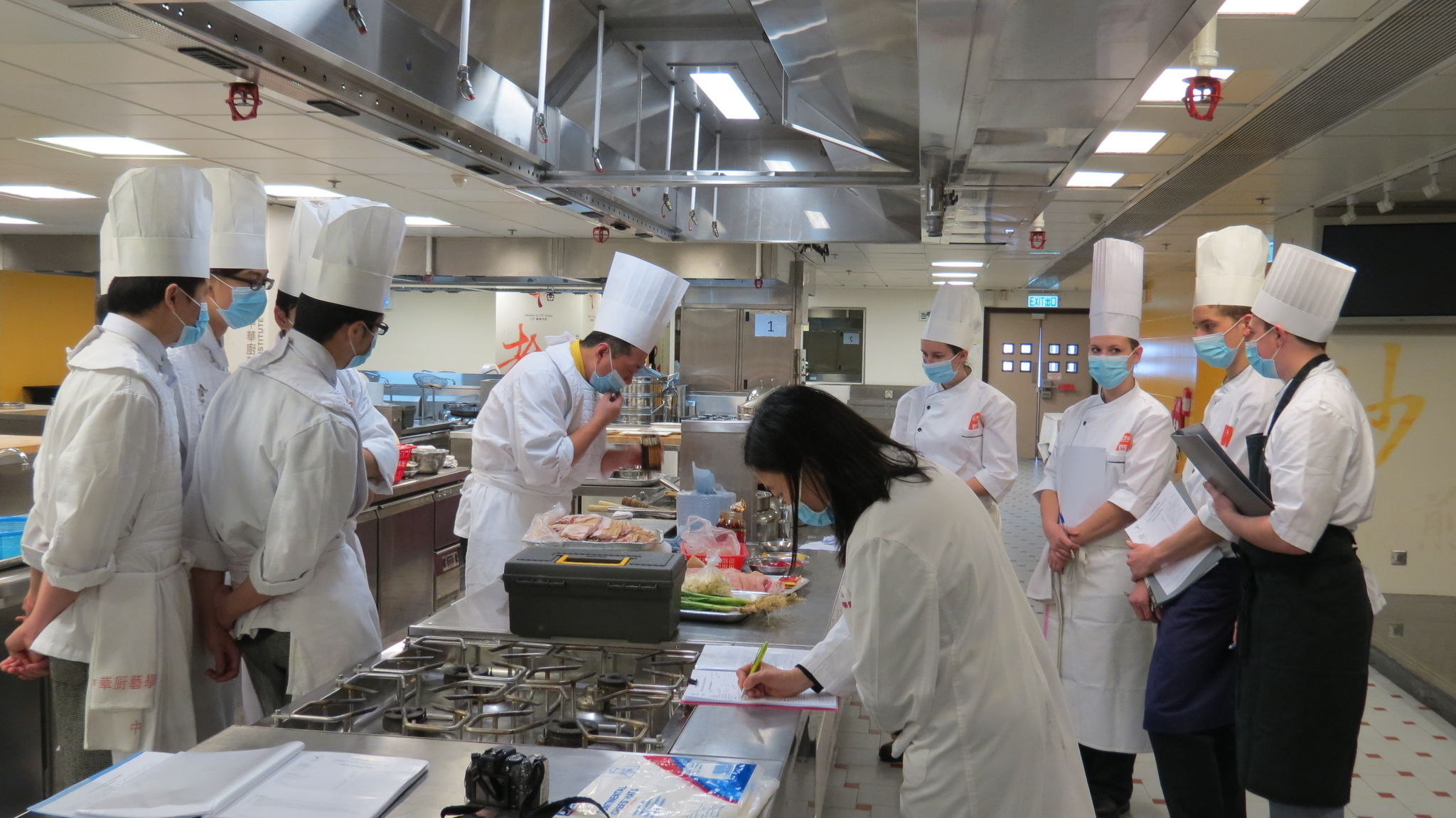 Lundi 25 f vrier 2013 1 re journ e de tp en cuisine et - Restaurant corte cauchemar en cuisine ...