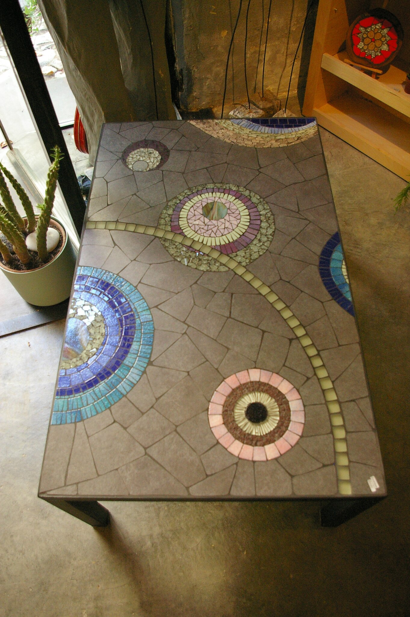 20 table basse ext rieure photo de 3 les tables creation decoration mosaique - Comment faire un tableau contemporain ...