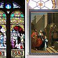 À la tessoualle, un tableau offert par la duchesse de berry