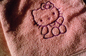 Serviette_HelloKitty