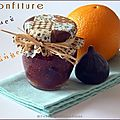 Confiture de figues  l