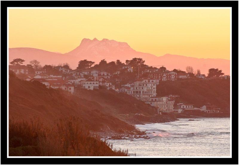Vue de la falaise de bidart photobruno for A portee de vue bidart