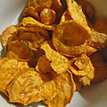*** Chips maison de patates douces ***