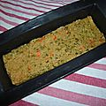 Terrine vegan à la farine de pois chiche et au curry