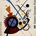 Kandinsky au centre pompidou beaubourg
