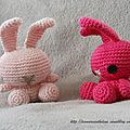 Lapins kawa au crochet