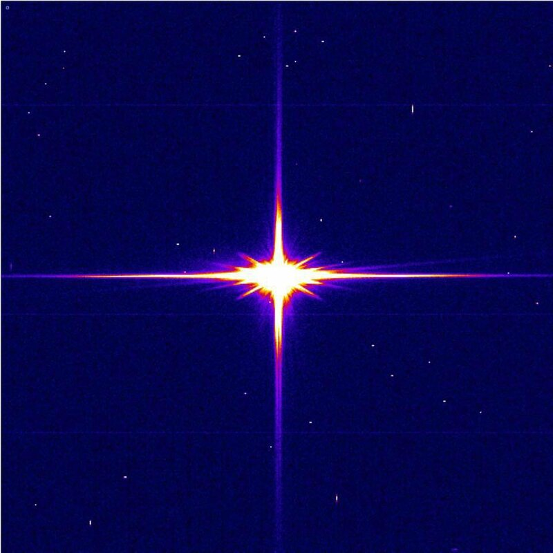 1 étoile dans le ciel