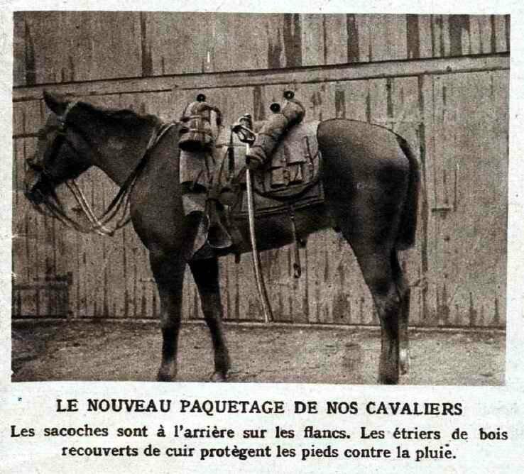 Equipement cheval miroir 10 01 1915