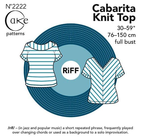 Cake Patterns - Cabarita Knit Top