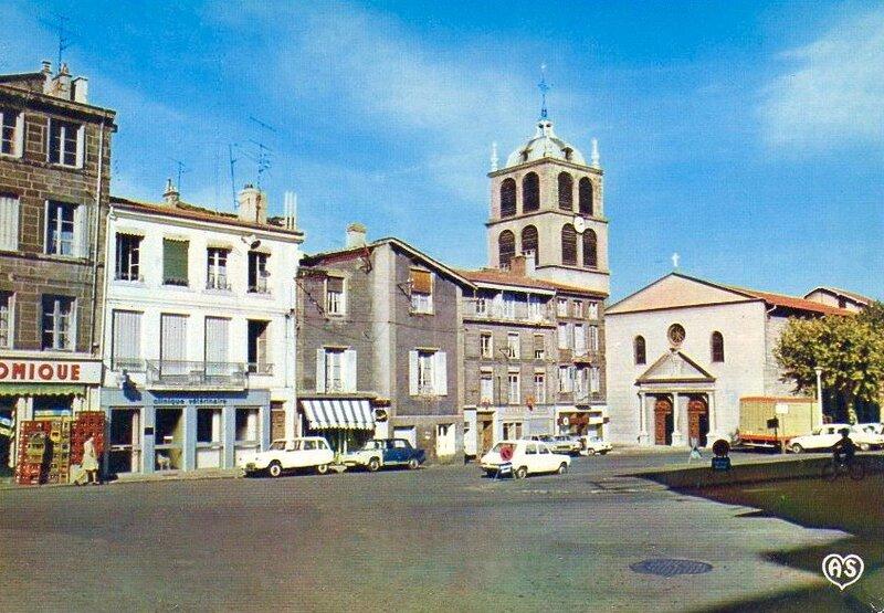 place Saint-Pierre années 1960