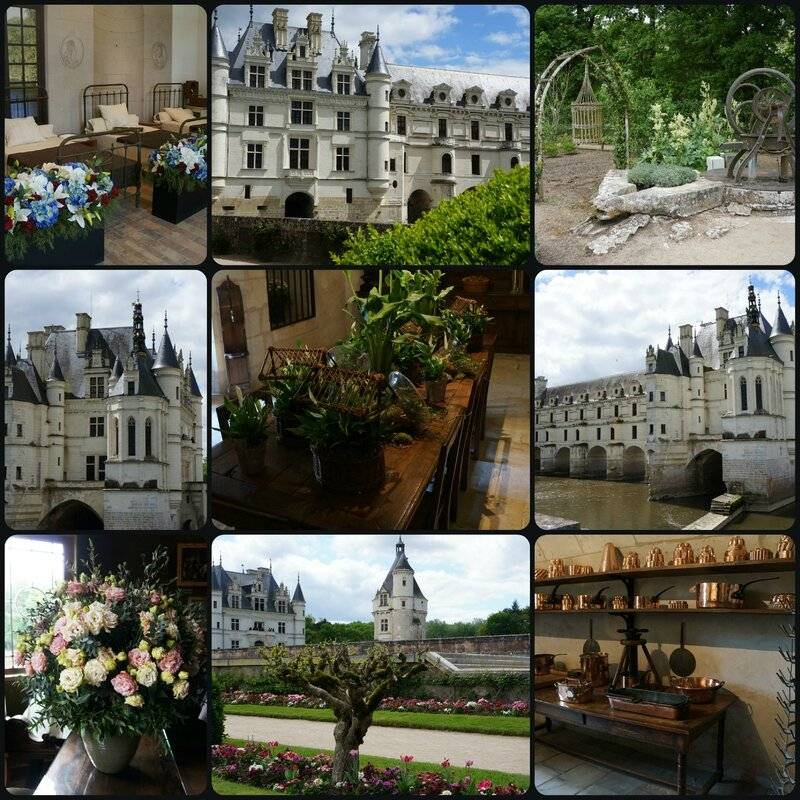Collage Chenonceau