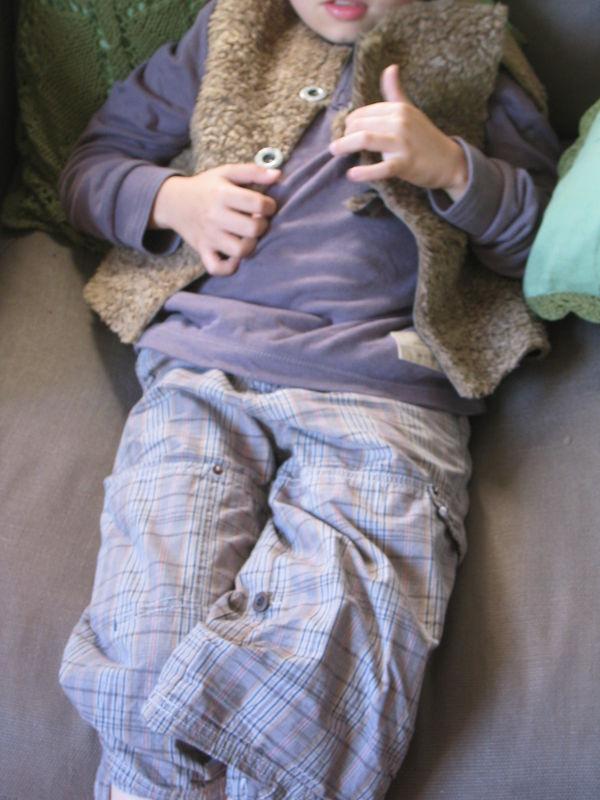 Gilet moumoute garçon 8 ans. Les intemporels pour enfants