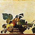 Cesta con frutas