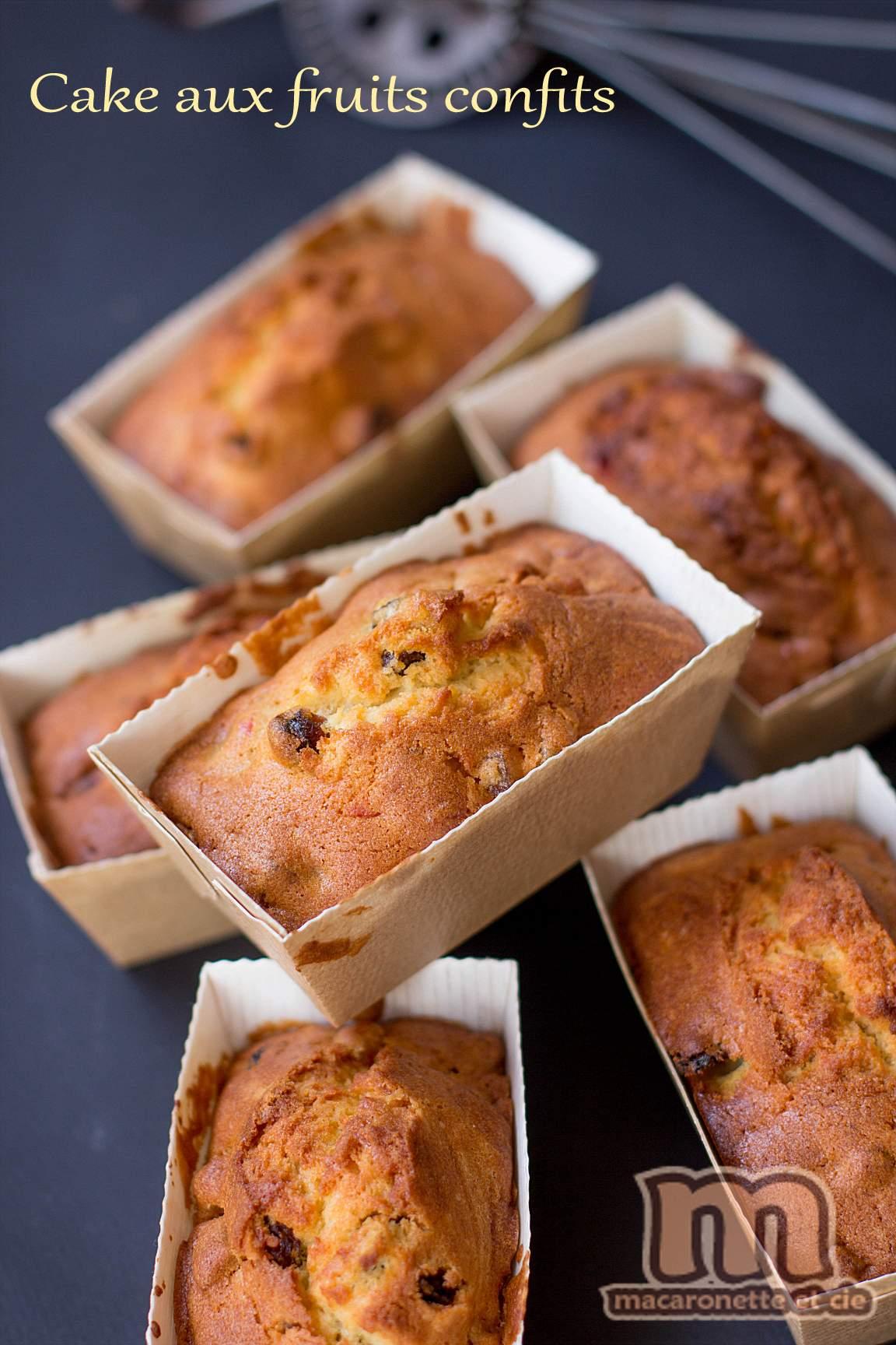 Cake Fruit Confit Par  Ef Bf Bdtape