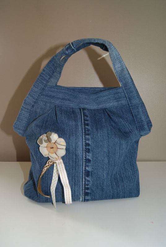 Mini sac en jean recup 39 gely 39 s co - Sac a main en jean ...