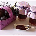 Confiture aux 3 fruits d