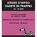 affiche cadets 2014 recto ateliers