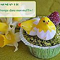 Muffin Monday # 30 : Muffin sucr aux petits pois, menthe et chvre frais