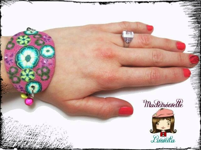 bracelet_fleur_fimo