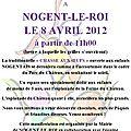 Chasse aux oeufs pour les petits nogentais le 8 avril prochain