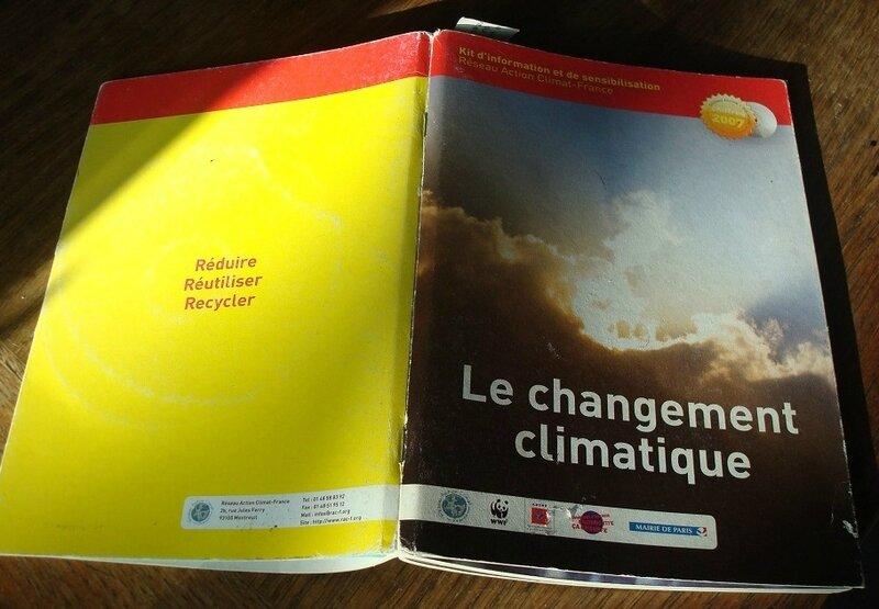 Kit de sensibilisation - Réseau Action Climat - Changement climatique