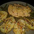 Escalopes de volaille aux oignons et tomates séchée 6 pp