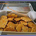 Biscuits apéritifs à la mimolette vieille