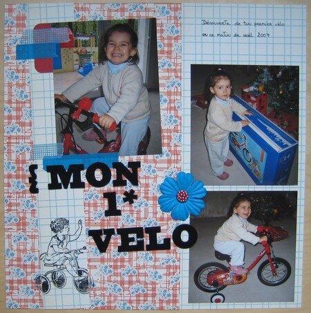 Mon 1er vélo