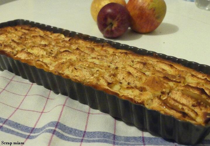 tarte pommes sans pâte B