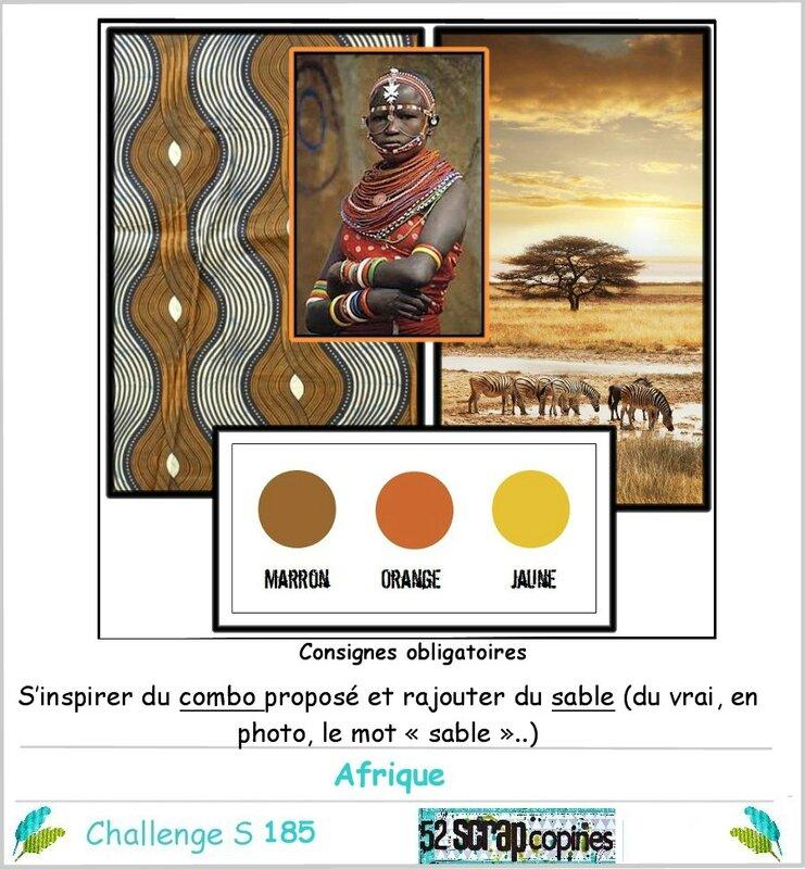 Challenge S185 -afrique