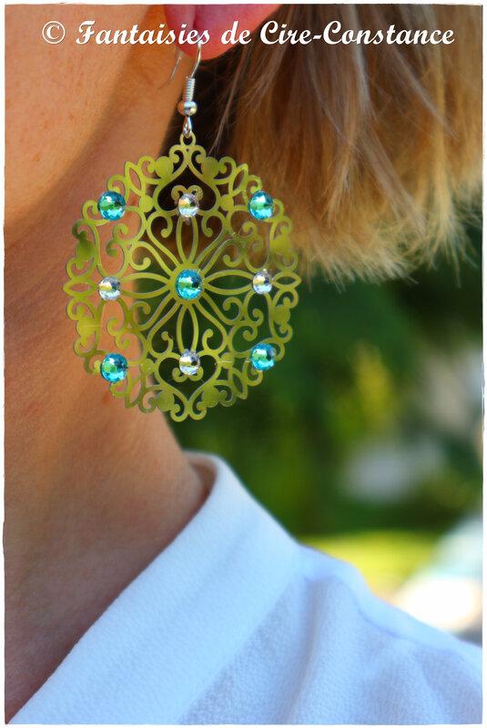 BO Andalousie turquoise courte