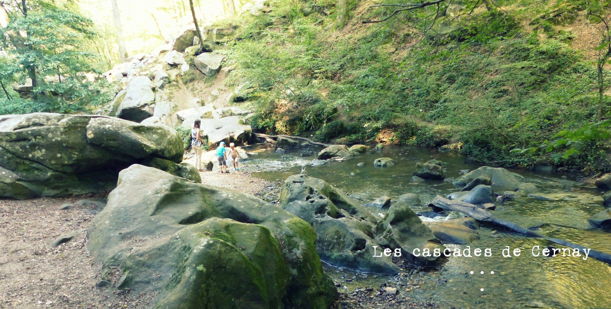 Les cascades de Cernay