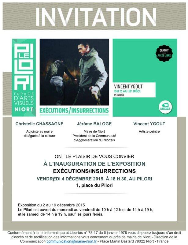 Exposition Vincent YGOUT - Pilori