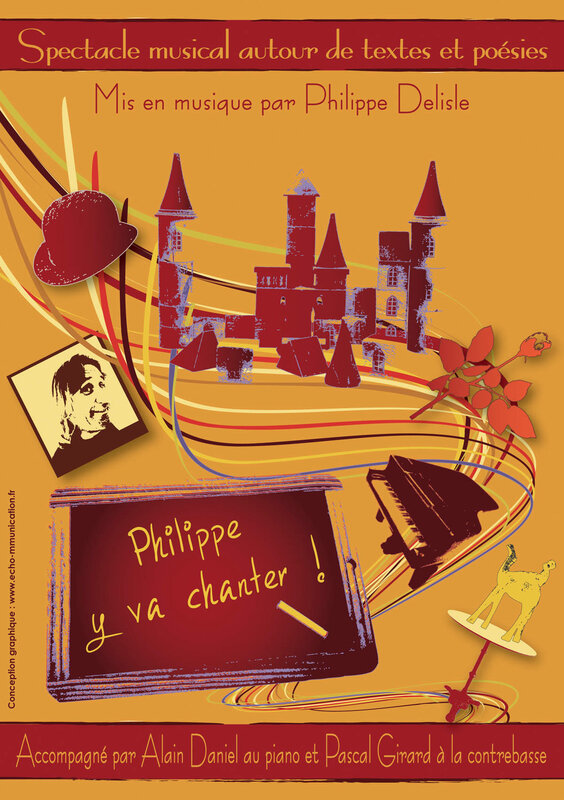 Affiche Philippe y va chanter