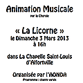 Concert  la chapelle Saint Louis d'Alfortville