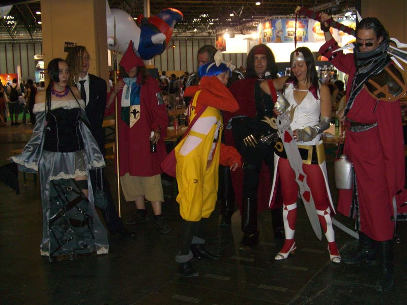 Groupe de cosplay