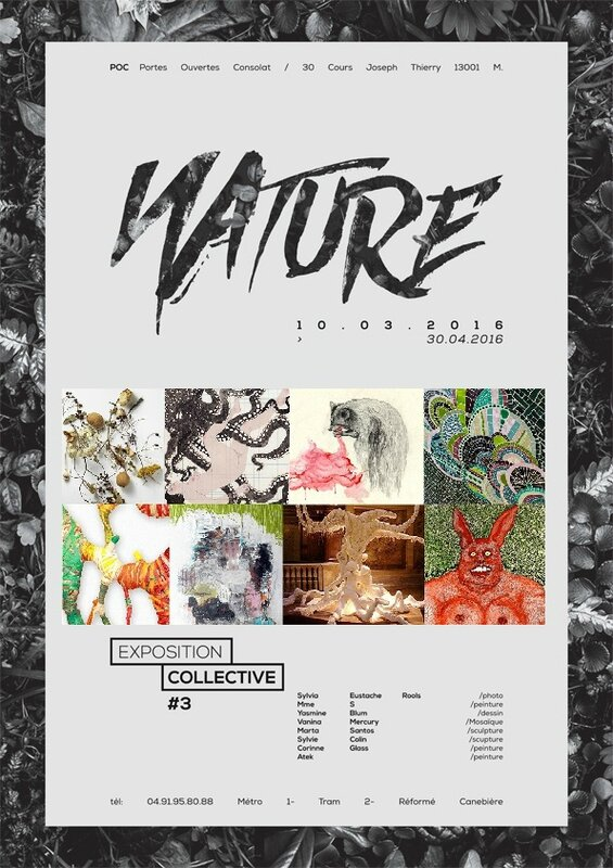 NATURE EXPO POC 10mars-30avril 2016 ATEK exposition collective