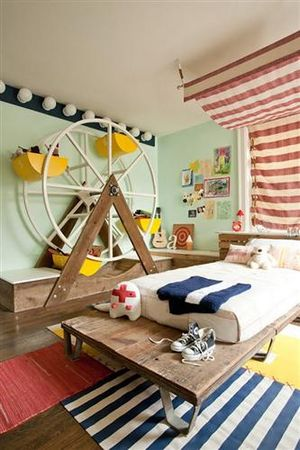 Cool_Kids_bedroom_with_circus_theme_decoration
