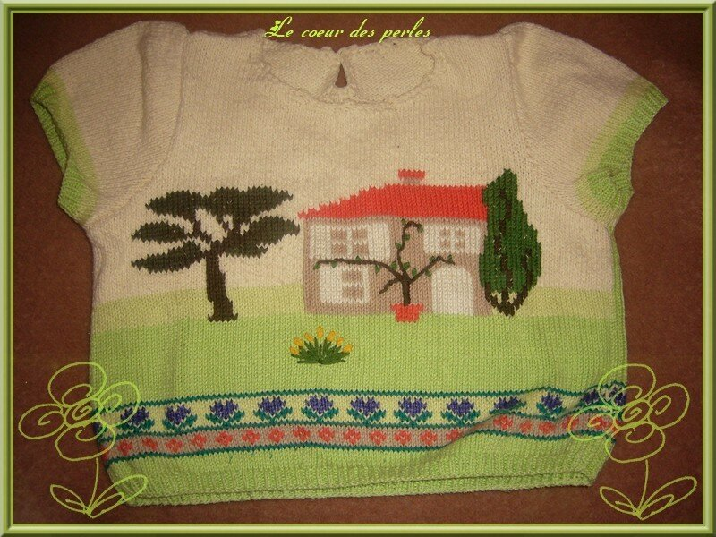 Tricot paysage