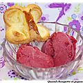 Sorbet aux fruits rouges